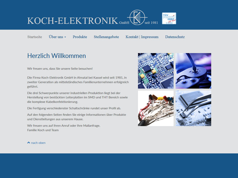 Webdesign Koch-Elektronik